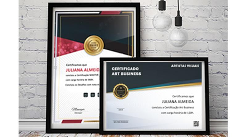 Certificado Art Business